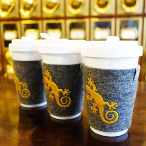 Kaffee To Go Becher von Gecko